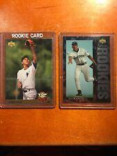 (14) Derek Jeter Rookie RC and Alex Rodriguez Rookie RC Lot x 14 see Pics