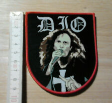 DIO woven Patch Black Sabbath Iron Maiden Rainbow Judas Priest Saxon Ozzy Accept