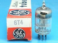 GE 6T4 VACUUM TUBE SINGLE 1 PCS ABSOLUTELY NOS NIB
