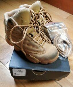 Nike Air Jordan XIII 13 Wheat Retro 2017 BP Preschool 414575-705 Size 11 C
