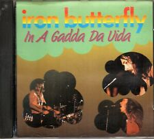 Iron Butterfly – In A Gadda Da Vida CD 1989