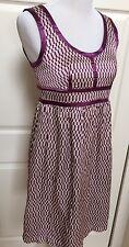 Proenza Schouler for Target Purple Silk Sleeveless Dress Lined Size 5