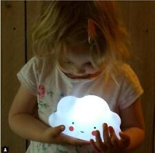 Novelty Cloud Smile Face Night Light Childrens Bedroom Nursery Night Lamp