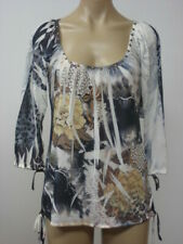 LOVE AMOUR Sequin Stretch Top Blouse Tunic S Small NWT