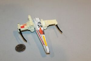 Vtg Star Wars 1978 kenner Miniature X-Wing Fighter Véhicule Spaceship Htf Ample