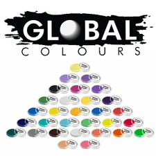 30+ COLOURS GLOBAL BODY ART 32g FACE AND BODY MAKE-UP CAKE PAINT PARTY HALLOWEEN