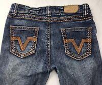 YASO Denim Girls Jeans Straight Leg Size 14