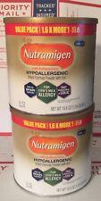 2X Enfamil Nutramigen Hypoallergenic Baby Formula Powder 19.8 Oz Exp:09/2021