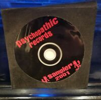 Insane Clown Posse - Psychopathic Records 2001 Sampler CD dark lotus blaze marz
