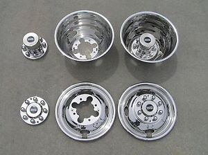 "16"" 04-19 Chevy Express / GMC Savana 3500 / 4500 Dually Wheel Simulators"