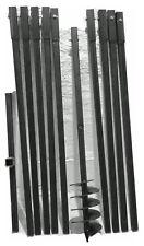 Erdbohrer Erdlochbohrer Brunnenbohrer Brunnenbohrgerät Handerdbohrer 150 mm