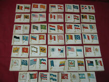 New listing Original Antique Tobacco Cloth Flags From Early 1900's