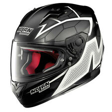 CASCO INTEGRALE NOLAN N64 N-64 HEXAGON - 88 FLAT BLACK TAGLIA XS