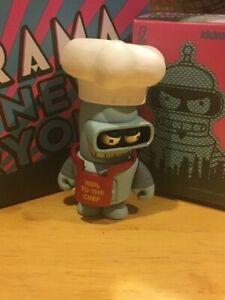Kidrobot Futurama Good News Everyone Series Chef Bender Chase w/Red Apron New