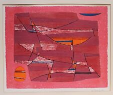 GUSTAVE SINGIER COLOR LITHOGRAPH