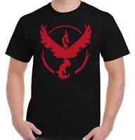 Cool Pokémon Go Video Game T Shirt Tee Team Valor Nerd Gamer T-Shirt Top