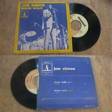 JOE SIMON - Moon Walk Rare French PS 7' Soul Monument 1969