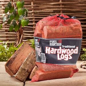 Kiln Dried Hardwood Fire Logs Open Fire Pit Firewood Premium Log Burner