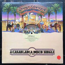 Village People - In The Navy PROMO Vinyl 12 Inch Single Casablanca Records 1979