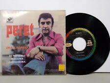 Perret RARE 1971 45 RPM EP 4 tracks Una Lagrima - Musart EX 46518 EX HEAR mp3