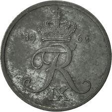 [#466593] Danemark, Frederik IX, Ore, 1962, Copenhagen, TTB, Zinc, KM:839.2