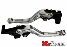 YAMAHA MT-09 SR FZ9 2014-2017 Short Adjustable Brake & Clutch CNC Levers Silver