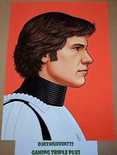 HAN SOLO 12X16 GICLEE (MIKE MITCHELL) STAR WARS (OOP) MONDO