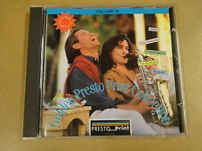 CD / GOLDEN PRESTO PRINT COLLECTION - VOL. IX