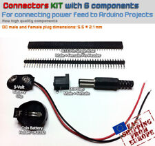 Connectors KIT (for Electronic projects, for Arduino projects) [6pcs]