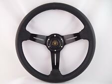 Ez-go POLARIS Ranger Black  steering wheel golf cart W/ Adapter 3 spoke Club Car