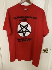 Electric Hellfire Club Boyd Rice Non Tour Shirt Anton LaVey COIL Wound