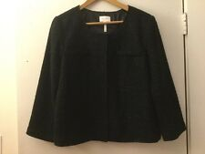 Laundry by Shelli Segal Black Jacket With Sparkles, Size 14