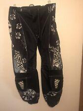 Fox Motocross 180 Racing Pants Youth Sz 3/4 Black, Blue, White