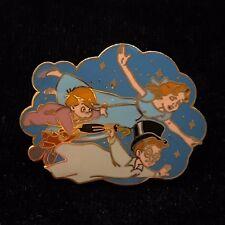 Peter Pan Wendy John Michael Darling Children Fly Neverland Star Disney Pin 3315