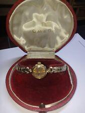 Vintage Omega Lady Mechanical Wrist Watch