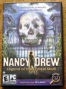 Nancy Drew: Adventure, Mystery, Detective, PC Game (CD-ROM) - V.G.C.+