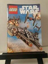 Lot of 2 Star Wars Lego Giveaway Promo Comic Force Awakens Han LeiaTheater Book