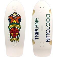 Dogtown Jim Muir TRIPLANE LIMITED EDITION Skateboard Deck WHITE