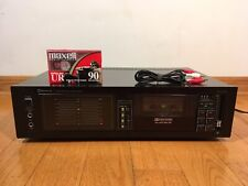 Sherwood S-150Cp Stereo Single Cassette Deck 1982 Made in Japan