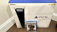 Sony Playstation 5 Bundle w/ Black Ops Cold War  (PS5) DISCEDITION Console