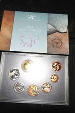 South Africa 2009 Short Proof Set in SA Mint Case - SEALED & Rare