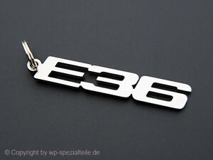 E36 Keychain Key Chain Keyring Pendant Fob Keyfob M3 Coupe Cabrio 325i