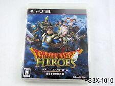 Dragon Quest Heroes Japanese Import Playstation 3 JP Japan PS3 US Seller B