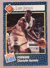 1992 Sports Illustrated for Kids Basketball Card Larry Johnson Charlotte Hornets