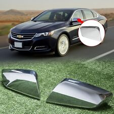 For 2014 -2018 2020 Chevy Impala Chrome Triple Mirror Covers Overlays Trims
