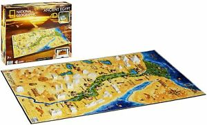 National Geographic: Ancient Egypt Jigsaw Puzzle, 600 Piece - 4D Cityscape Free