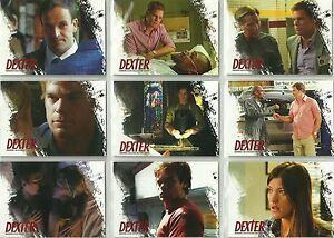 Dexter 5 & 6 - Quotes set DQ1 - DQ9