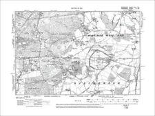 United Kingdom Hampshire Antique Europe Sheet Maps