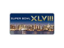 SUPER BOWL XLVIII SEAHAWKS BRONCOS 2014 NYC NEW YORK CITY SKYLINE WINCRAFT PIN