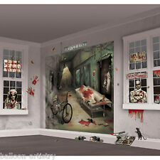 Haunted Halloween SURGERY HORROR Party Scene Setter Mega Wall Decorating Kit